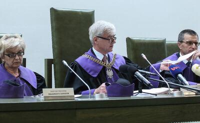 Sędzia sprawozdawca: nie rozstrzygaliśmy sporu kompetencyjnego