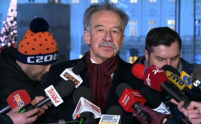 Wojciech Hermeliński po spotkaniu z prezydentem