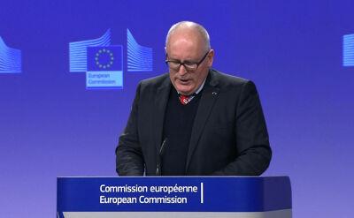 Komisja Europejska zdecydowała o uruchomieniu artykułu 7 wobec Polski