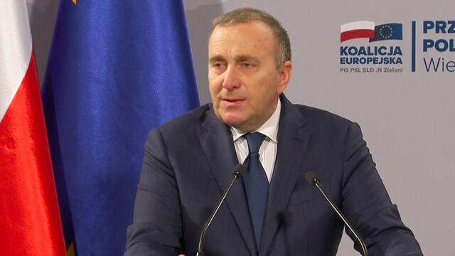 Schetyna: mam piątkę dla Jarosława Kaczyńskiego