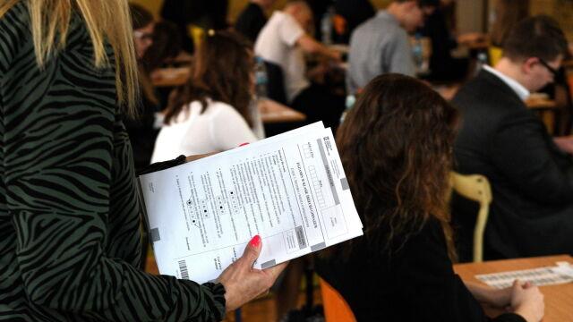 Zalewska: we wszystkich szkołach w piątek odbyły się egzaminy