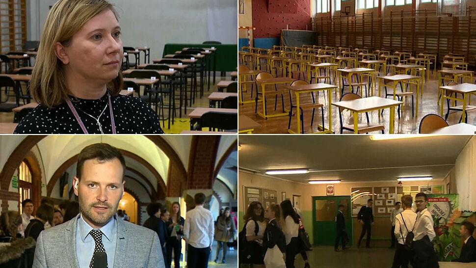 Pierwszy dzień egzaminów. Reporterzy TVN24 sprawdzają sytuację w miastach