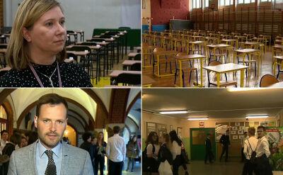 Reporterzy TVN24 sprawdzają sytuację w miastach. Przygotowania do pierwszej części egzaminu gimnazjalnego