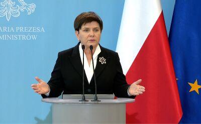 Beata Szydło proponuje zorganizowanie okrągłego stołu z nauczycielami