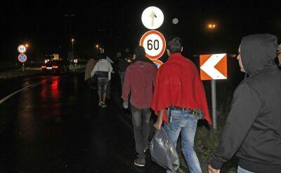 Uchodźcy na granicy Austrii. Kolejni jadą z Budapesztu