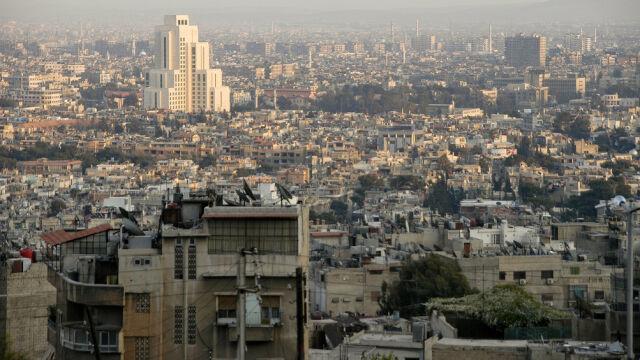 Atak na przedmieściach Damaszku.  BBC: z użyciem chloru