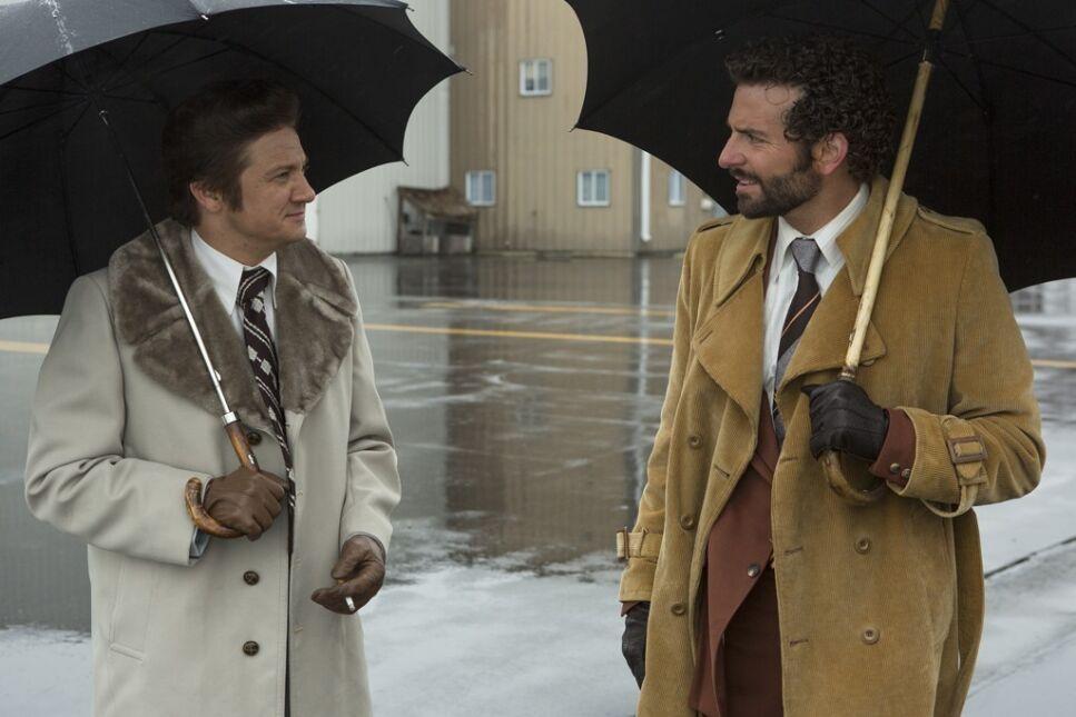 Jeremy Renner i Bradley Cooper