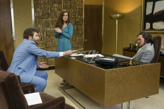Bradley Cooper, Amy Adams i Christian Bale