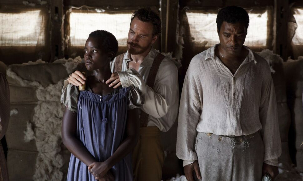 Lupita Nyong'o, Michael Fassbender i Chiwetel Ejiofor
