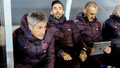 Trener Barcelony: nie podobała mi się gra zespołu w pierwszej połowie