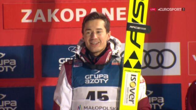 Mazurek Dąbrowskiego w Zakopanem! Stoch na najwyższym stopniu podium