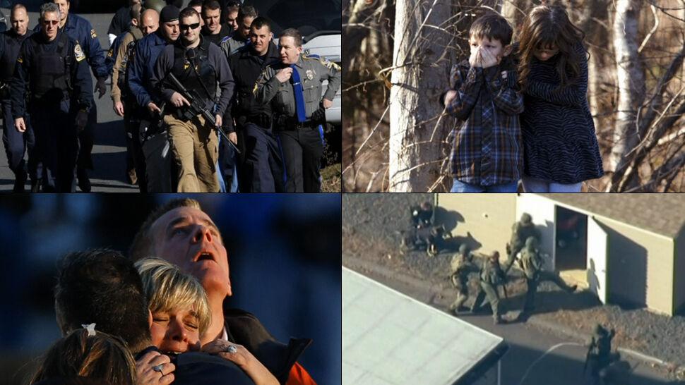 """""""Sępy, macie swoje taśmy"""". Ujawnili nagrania z masakry w szkole w Newtown"""