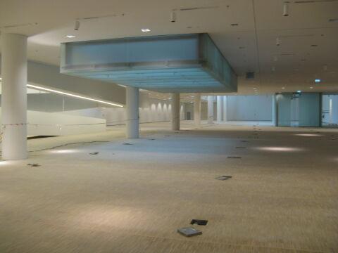 Nowe siedziba Muzeum Śląskiego niemal w całości ukryta jest ponad 14 metrów pod ziemią