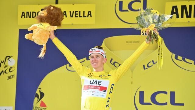 Pogacar mknie po wygraną w Tour de France. Największa przewaga od dwóch dekad