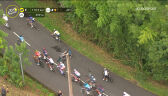 Kraksa Henao i Pachera na 18. etapie Tour de France
