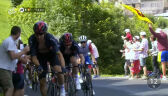 Mocne tempo Kwiatkowskiego na ostatnim podjeździe 18. etapu Tour de France