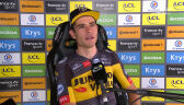 Van Aert po wygraniu 20. etapu Tour de France