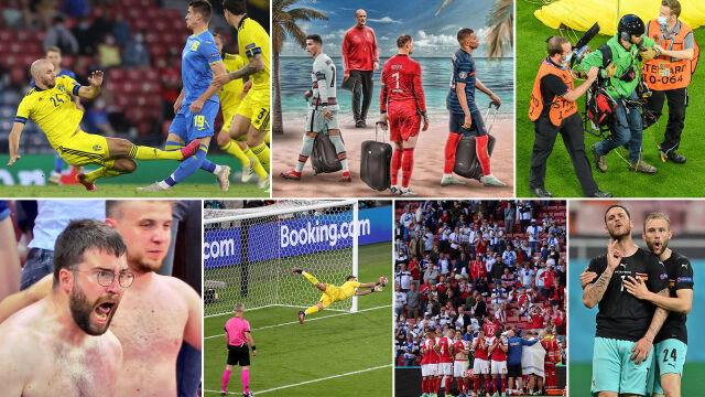 Od amuletu do najbardziej niespodziewanej żółtej kartki. Alfabet Euro 2020