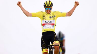 Pogacar najlepszy na Col du Portet. Carapaz wskakuje na podium Tour de France