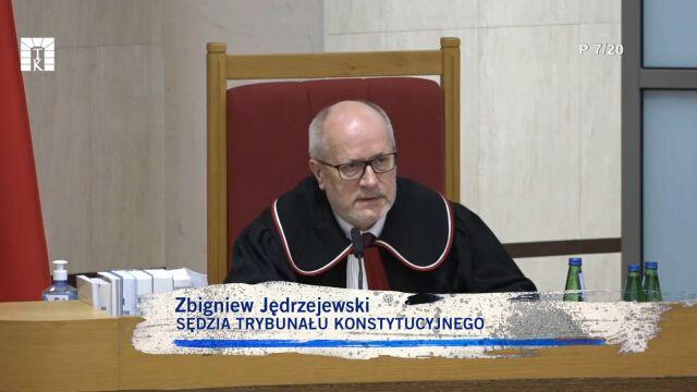 ofensywne pytania Zbigniewa Jędrzejewskiego