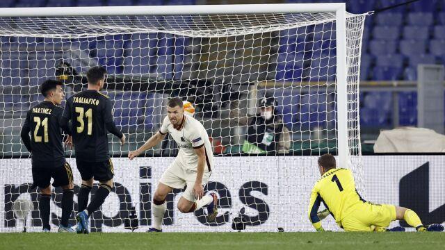 Roma utrzymała zaliczkę w starciu z Ajaksem. O finał Ligi Europy zagra z Manchesterem United
