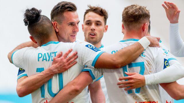 Znakomita asysta Milika, przepiękny gol Payeta. Marsylia triumfuje