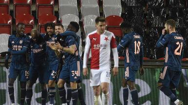 Trzy gole w sześć minut. Arsenal szybko wybił Slavii awans z głowy