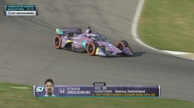 Grosjean ponownie za kierownicą bolidu. Obiecujący debiut w nowej serii