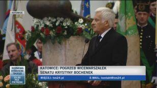 Jerzy Buzek: Nie zapomnimy, czego nas nauczyłaś