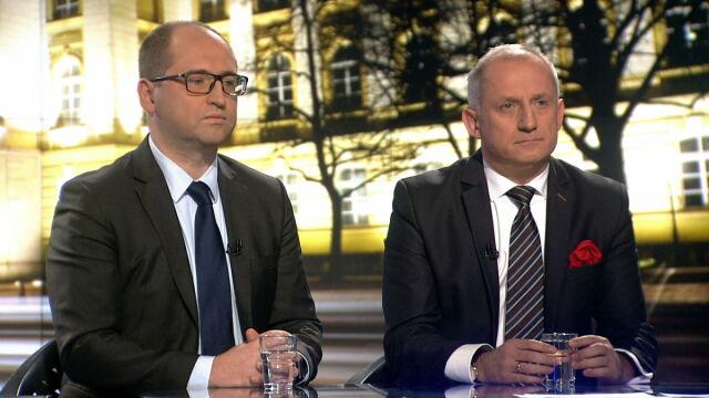 """Adam Bielan i Sławomir Neumann w """"Faktach po Faktach"""" w TVN24"""