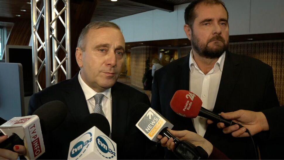 """Schetyna w Radzie Europy. """"Bardzo wyraźnie mówiliśmy o przypadkach korupcji politycznej"""""""
