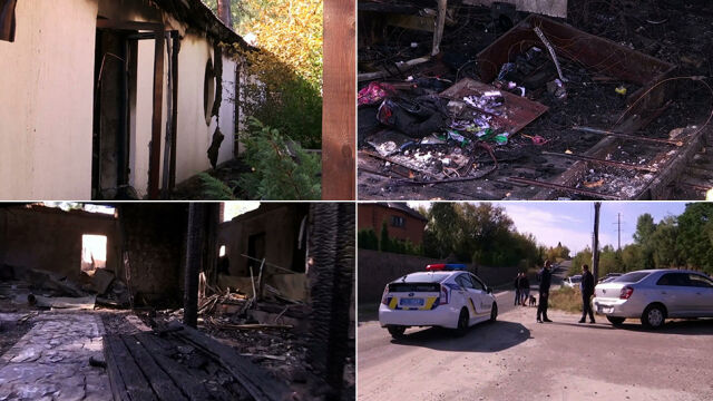 Chór zaśpiewał w telewizji o podpaleniu domu byłej szefowej banku centralnego
