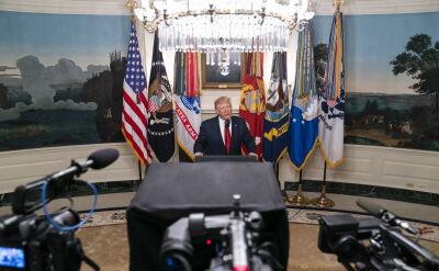 Całe oświadczenie Donalda Trumpa o śmierci przywódcy tzw. Państwa Islamskiego