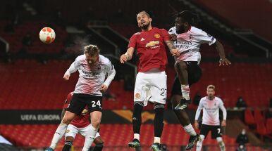 Walka do końca w hicie Ligi Europy. Milan dopadł Manchester United