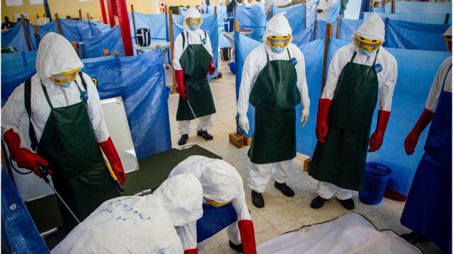 Kilkanaście zachorowań na ebolę jednego dnia