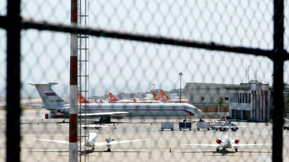 Rosyjskie samoloty dostrzeżone na lotnisku  w Wenezueli. Resorty odmawiają komentarza