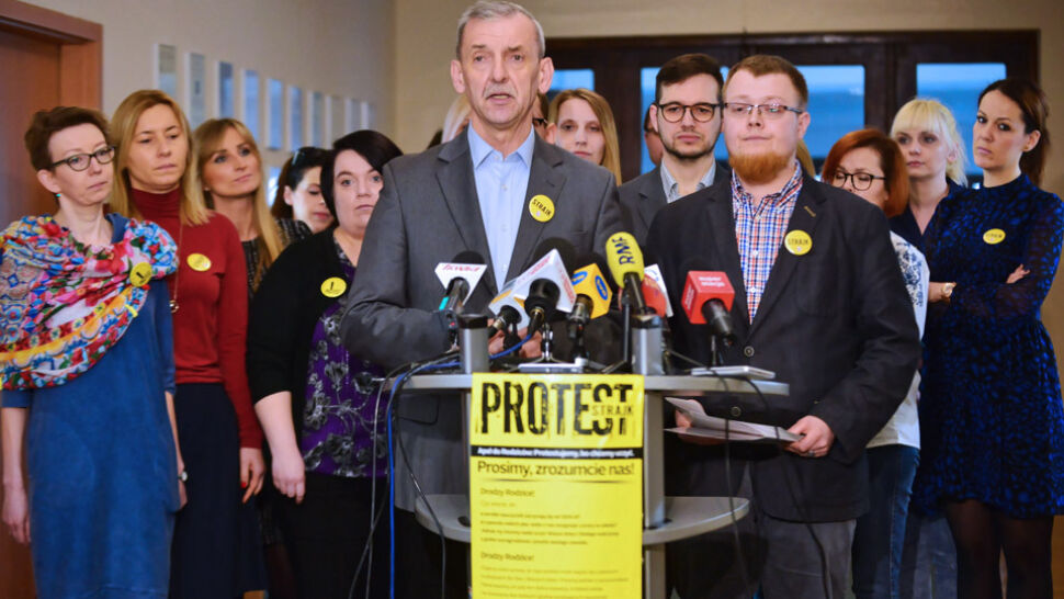 ZNP podało wyniki referendum strajkowego nauczycieli