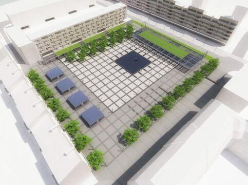 Tak będzie wyglądał plac Nowy Targ
