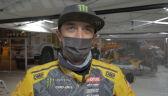 Aron Domżala po wygraniu 4. etapu Rajdu Dakar 2021 w kategorii SSV