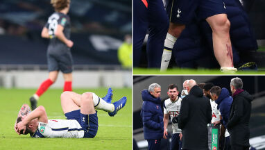 Chciał grać z kontuzją, powstrzymał go Mourinho.