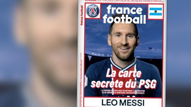 """France Football"" debatuje na temat transferu Messiego. ""Tajny list PSG"""