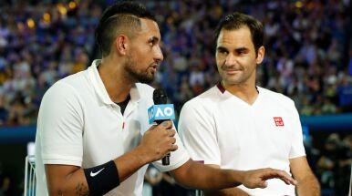 Kyrgios bez wątpliwości: Nadal i Djoković nie są nawet blisko Federera