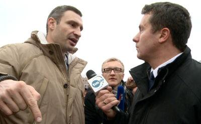 Kliczko: Majdan spłynął krwią, dlatego dzisiaj znów tu jesteśmy