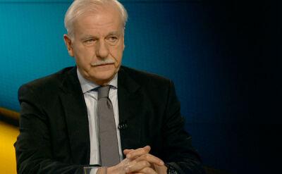 Olechowski: Za zamieszki na Ukrainie winiłbym Janukowycza