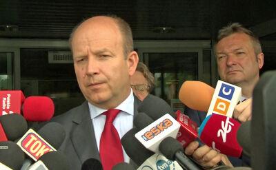 Minister Radziwiłł po spotkaniu z pielęgniarkami