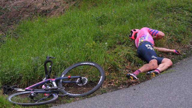 Pechowy start sezonu kanadyjskiego kolarza. Złamał nogę w pierwszym wyścigu