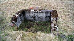 Ruiny domów w nieistniejącej miejscowości Wielka Izera
