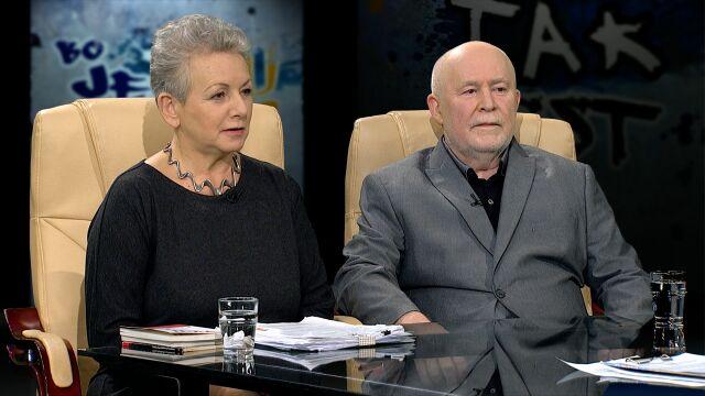 Monika Płatek i  Paweł Moczydłowski w Tak Jest