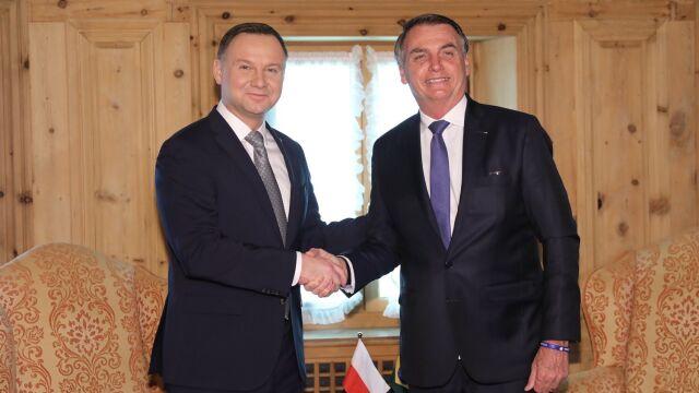 Jair Bolsonaro przyjął zaproszenie do Polski.  Spotkanie prezydentów Polski i Brazylii
