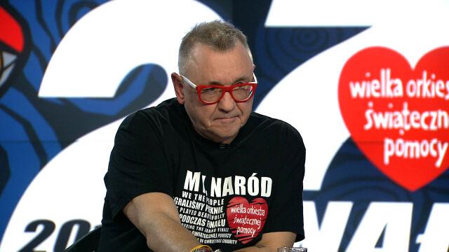 Jerzy Owsiak o odporności na ataki pod jego adresem